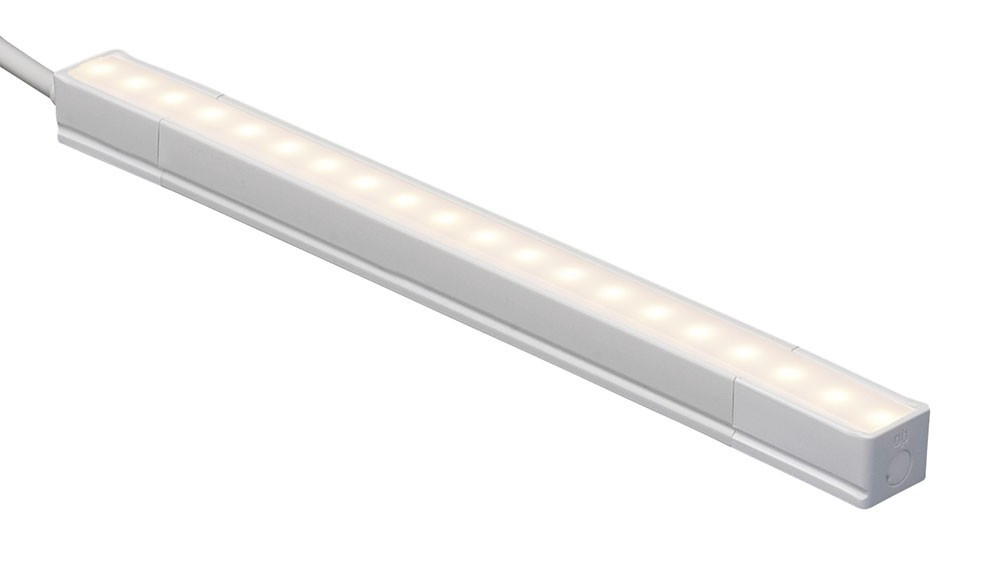 led 10 inch linear under cabinet and cove lighting strip 2700k warm white