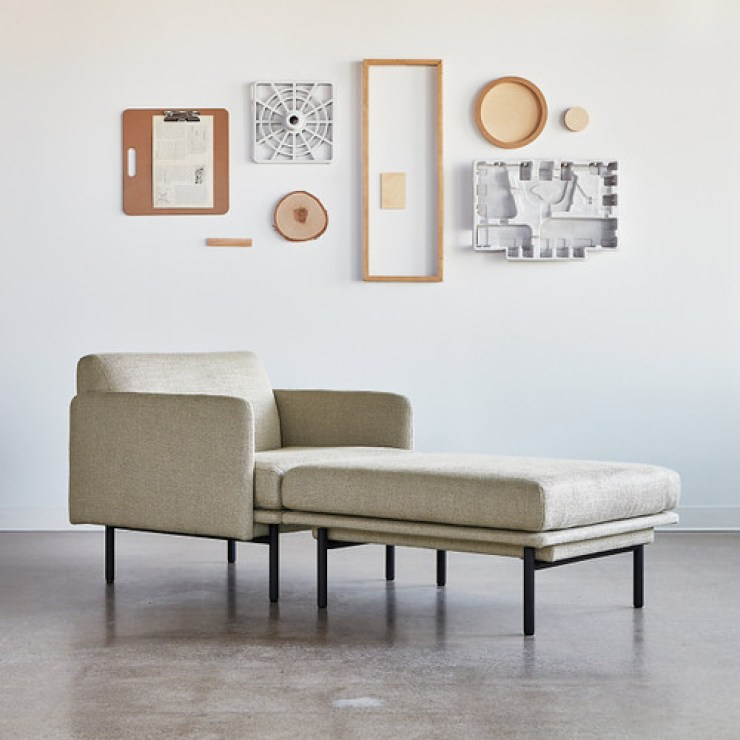 Foundry Chaise by Gus Modern