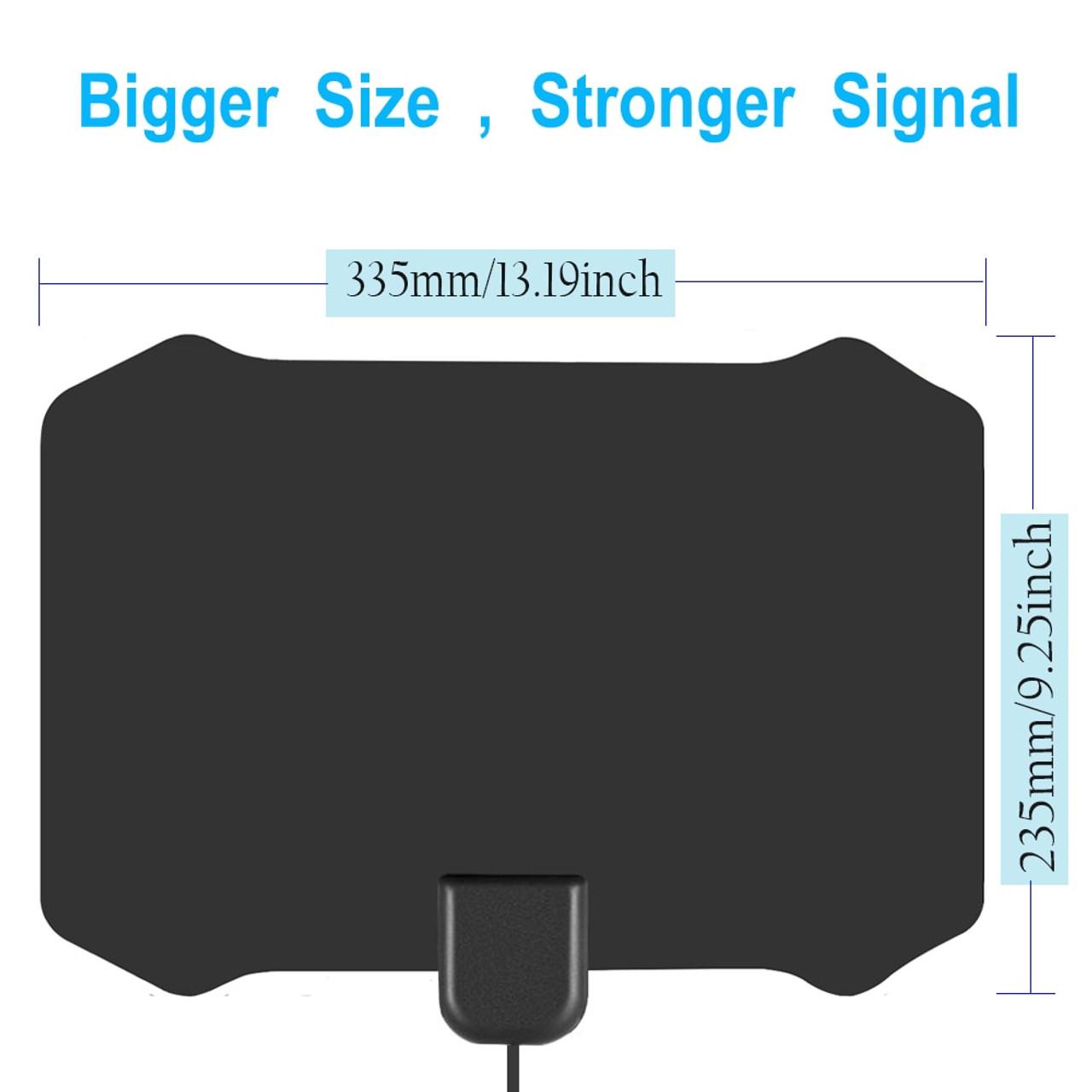 medium resolution of  120 miles antena digital hdtv indoor tv antenna with amplifier signal booster tv radius surf fox