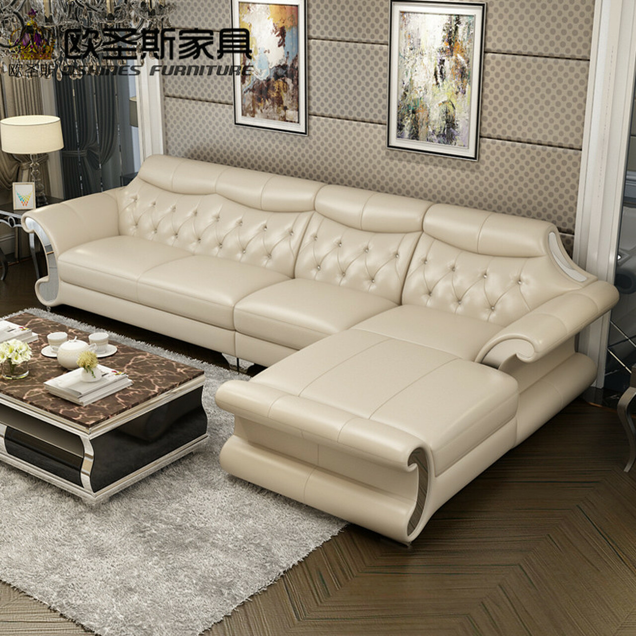 Sofà divano letto clic clac 2 posti in similpelle reclinabile design moderno elly. Beautiful Post Modern Bright Colored Sleeper Couch Living Room Stailess Steel Frame Buffalo Leather Sofa Set Designs And Prices Onshopdeals Com