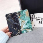 Luxury Green Black Marble Phone Case For Iphone 7 Case For Iphone 6s 6 7 7plus 8 8plus 6 S Plus X Hard Plastic Back Cover Fundas Onshopdeals Com
