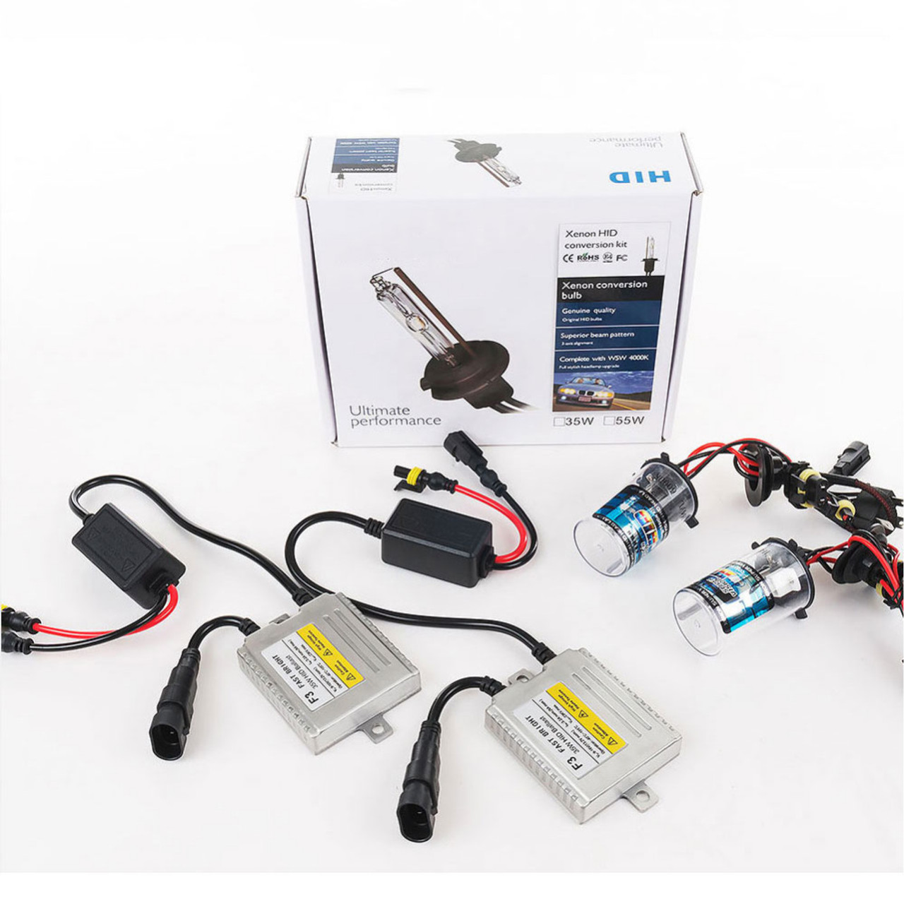 hight resolution of  0 1 seconds fast bright h1 xenon f3 ac12v 35w xenon lamp hid kit h3 h1 h4