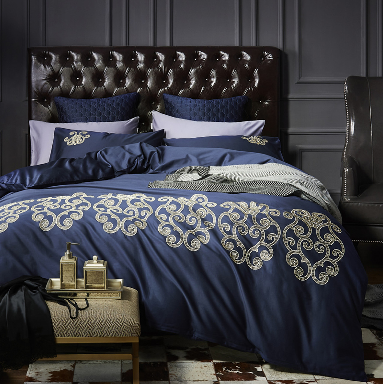 4pcs 100 cotton black white silver luxury bedding sets bedclothes king queen size duvet cover bed sheet linens set pillowcases