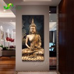 1 Panel Abstract Buddha Canvas Oil Painting Wall Picture For Living Room Cuadros Decoration Modern Printing Unframed Pr1297 Onshopdeals Com