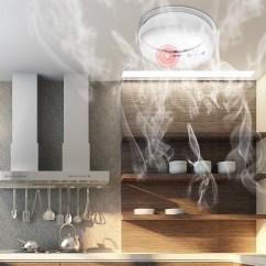 Kitchen Smoke Detector Organizing Ideas Kerui 3pcs 433mhz Home Security Wireless Fire Sensor Alarm For Gsm Wifi