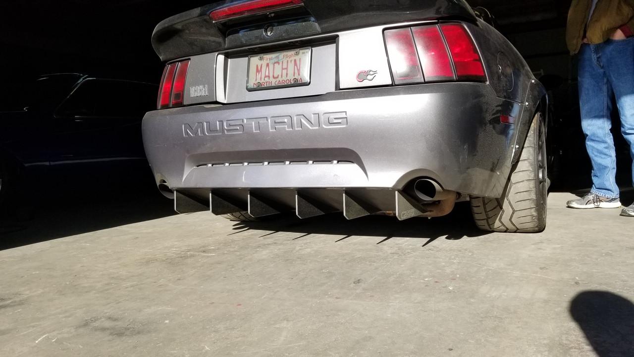99 04 v6 gt mach 1 99 01 cobra rear diffuser
