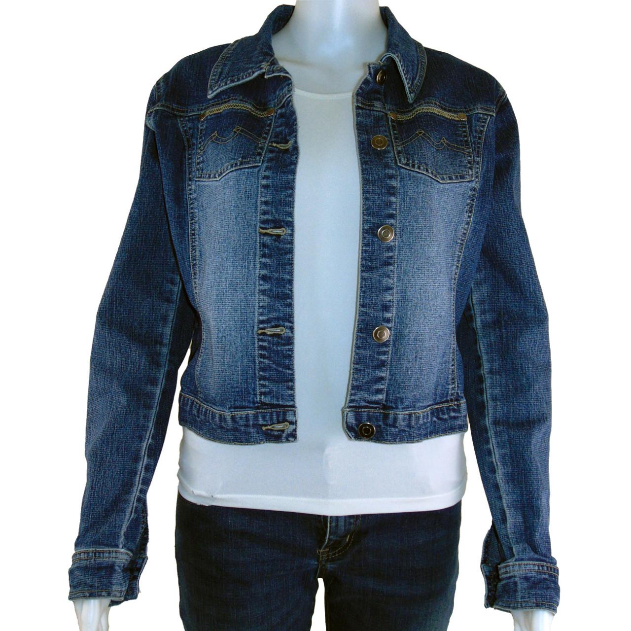 Garage Denim Jean Jacket Size Xs 1