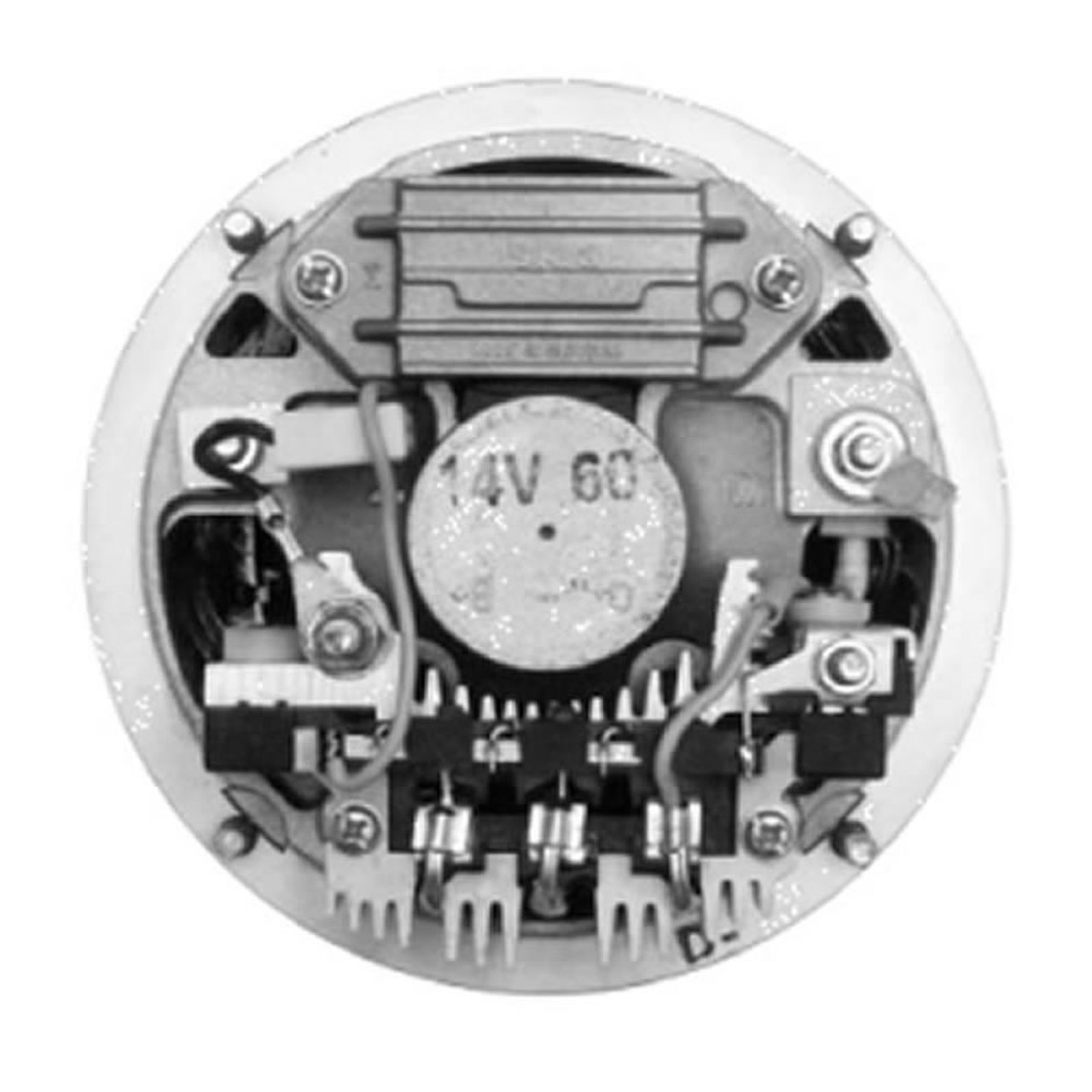 Iskra Alternator Wiring Diagram - on