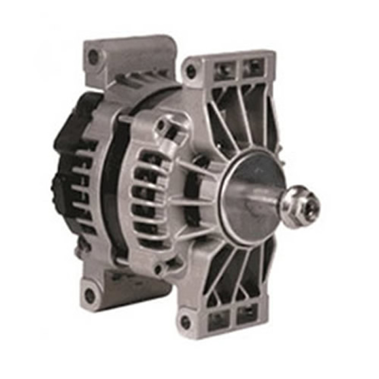 small resolution of  24 si 12v 160 amp pad mount delco remy alternator 8600889 delco remy starter wiring diagram