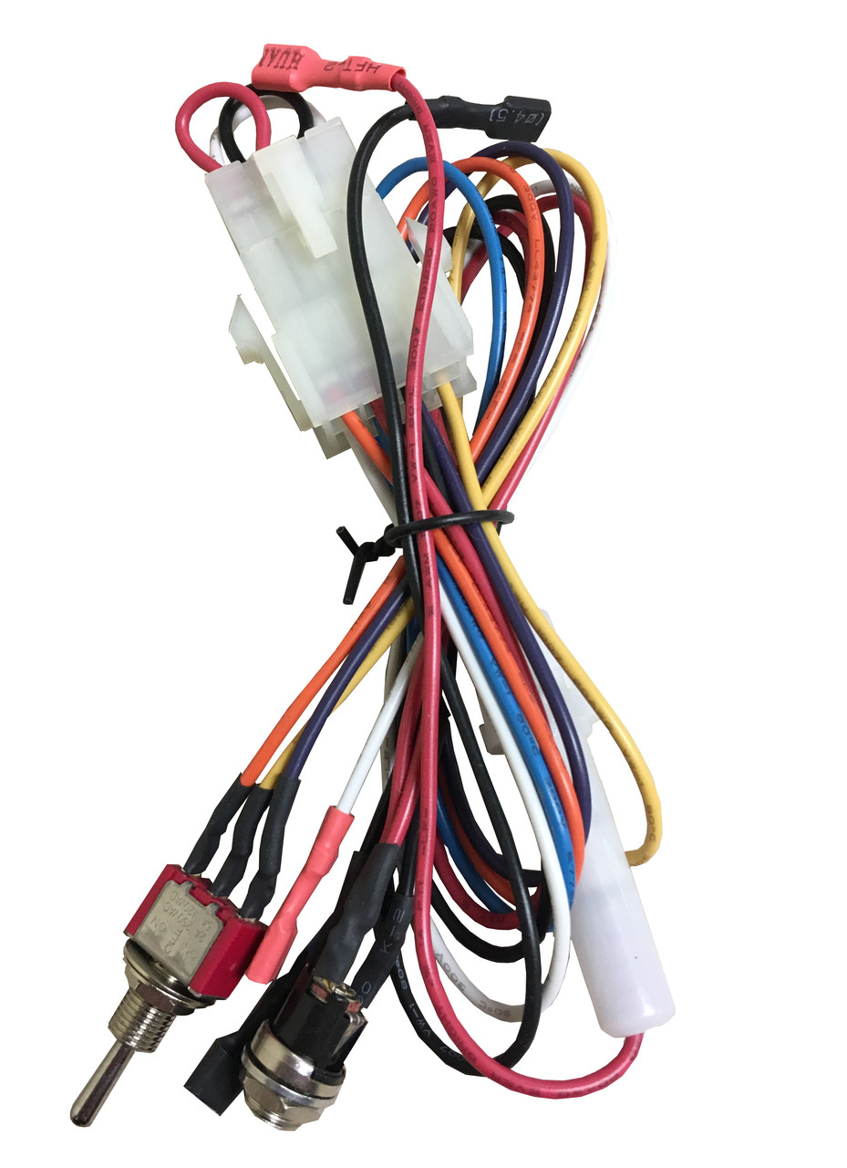 medium resolution of super lucky duck wire harness with toggle switch