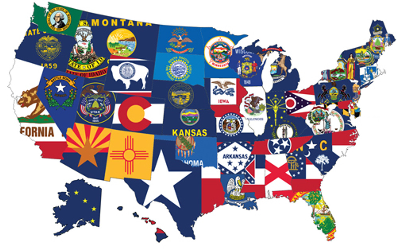 50 us states complete