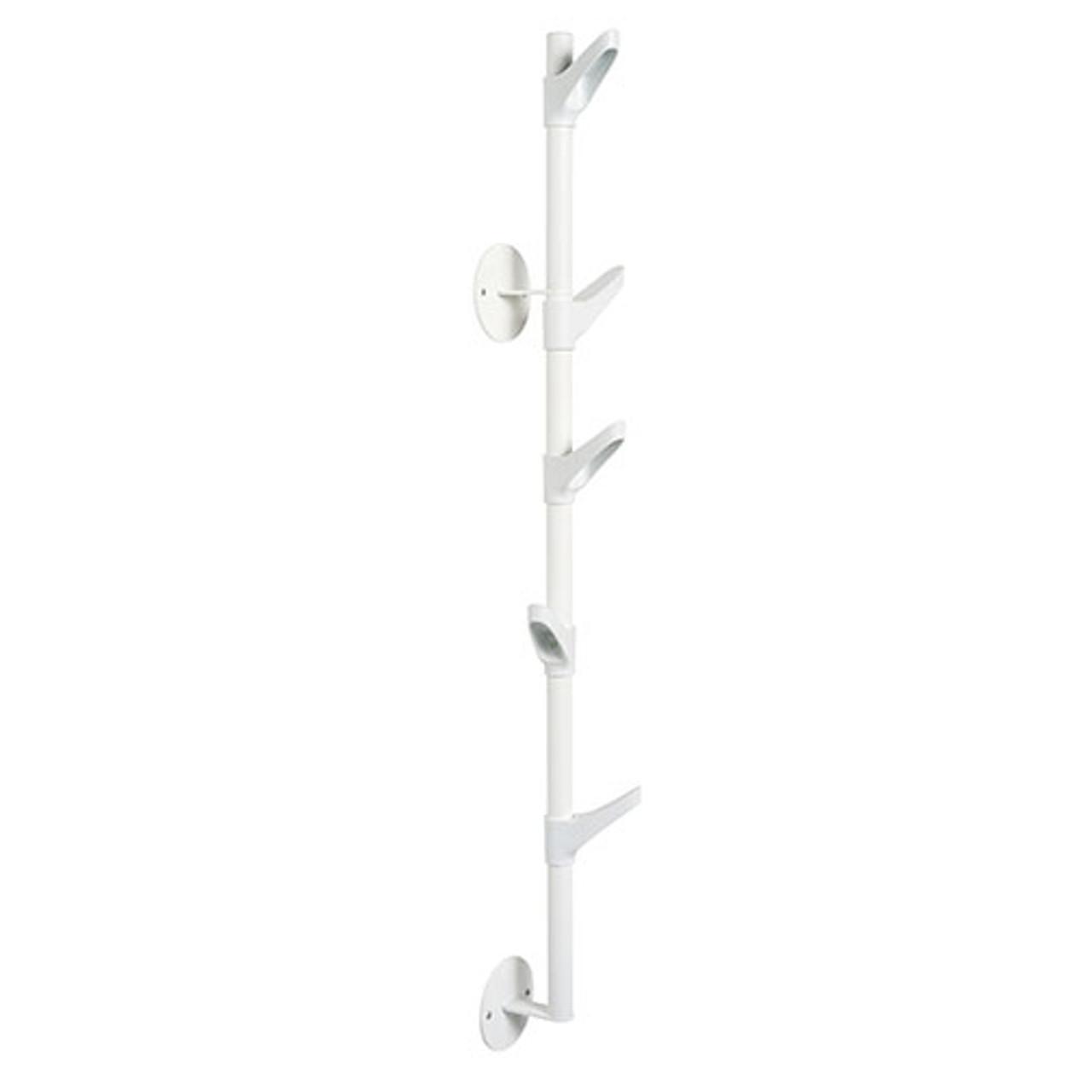 magnuson slide wall coat rack slide w2 5 hooks vertical