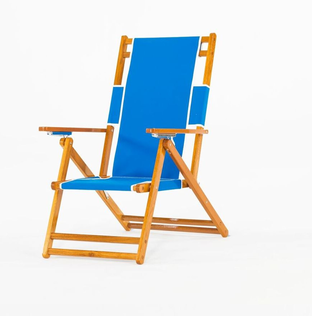Folding Wood Beach Chair Commercial Wooden Beach Chair No Foot Rest