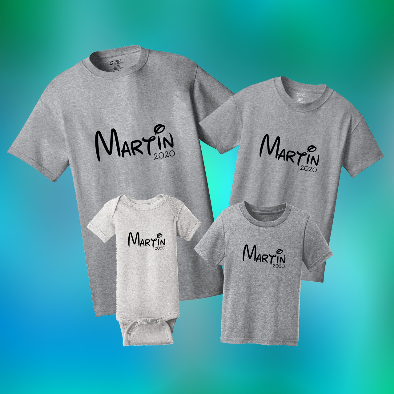 Custom Family Shirts Vacation Apparel Sweetums Signatures