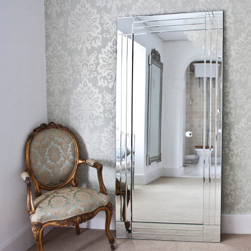 hallway mirrors contemporary traditional
