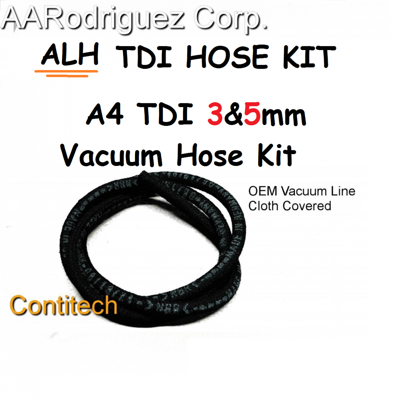 vacuum hose kit for vw alh ahu 1z a4 ve tdi [ 1280 x 1280 Pixel ]