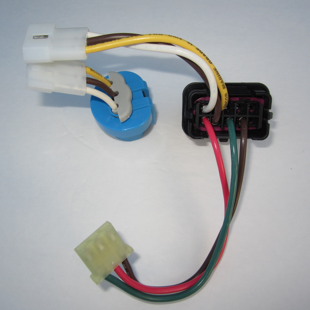 small resolution of brand new complete 9004 9007 headlight wiring harness for mkiv jetta