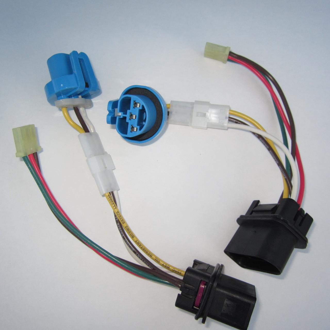2 brand new complete jetta headlight wiring harness 1999 2005 vw mk4 [ 1280 x 1280 Pixel ]