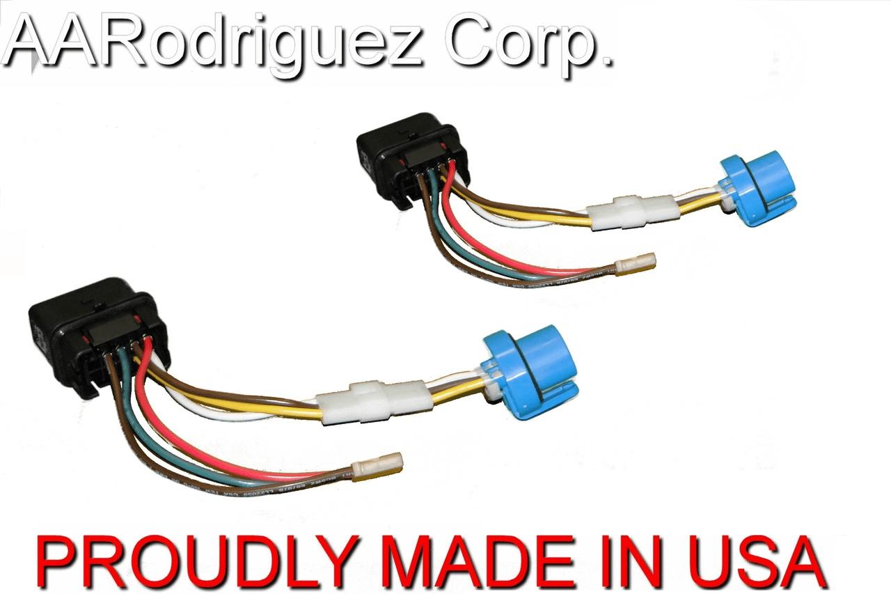 medium resolution of upgraded headlight wiring harness vw mk4 jetta 2 pack vw t4 headlight wiring diagram brand new