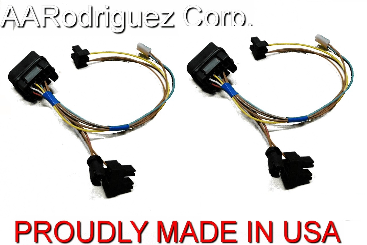 small resolution of upgraded headlight wiring harness vw mk4 golf 2 pack headlight wire harness 2008 saturn vue