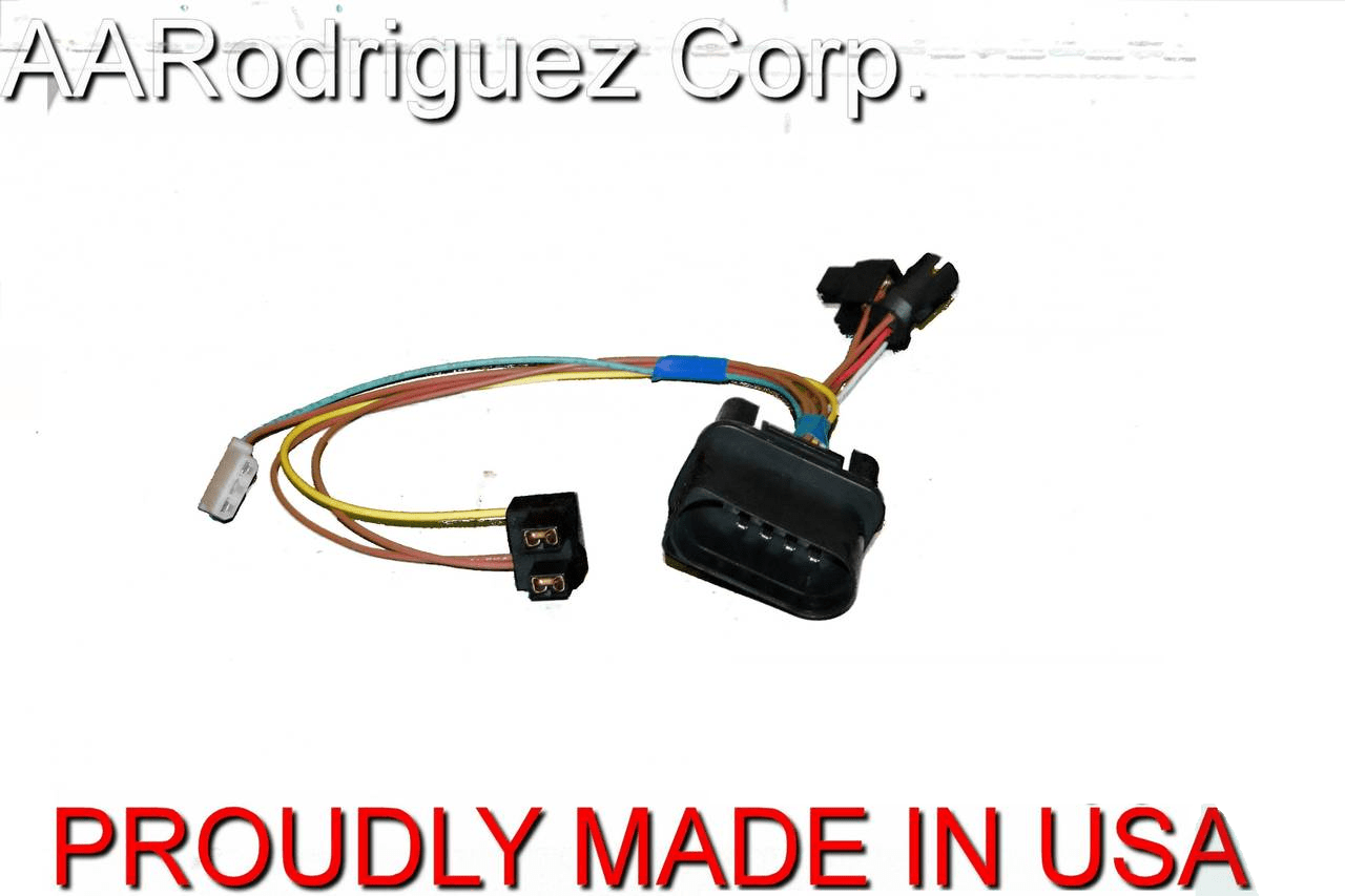 hight resolution of upgraded headlight wiring harness vw mk4 golf 2 pack 2 brand new complete