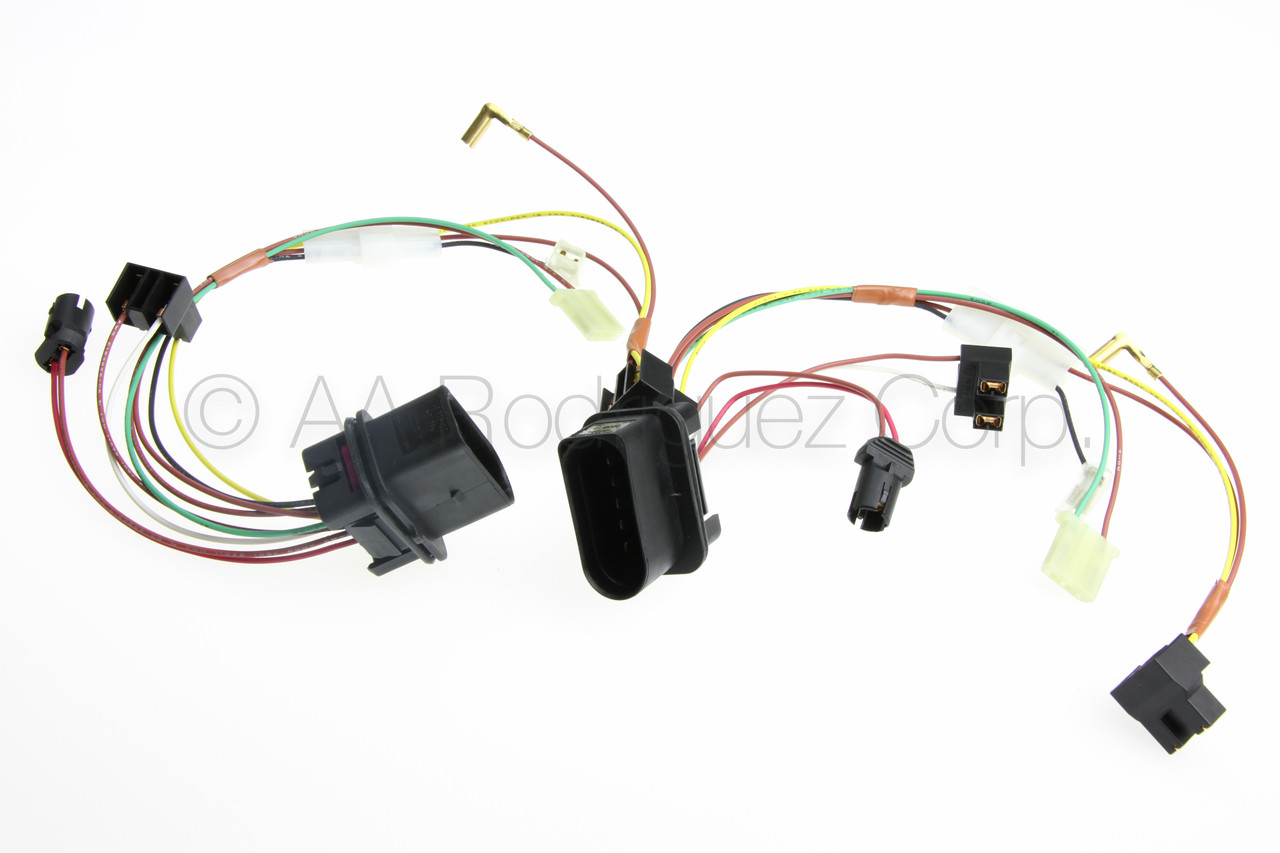 hight resolution of vw golf headlight with fog lights wiring harness 2