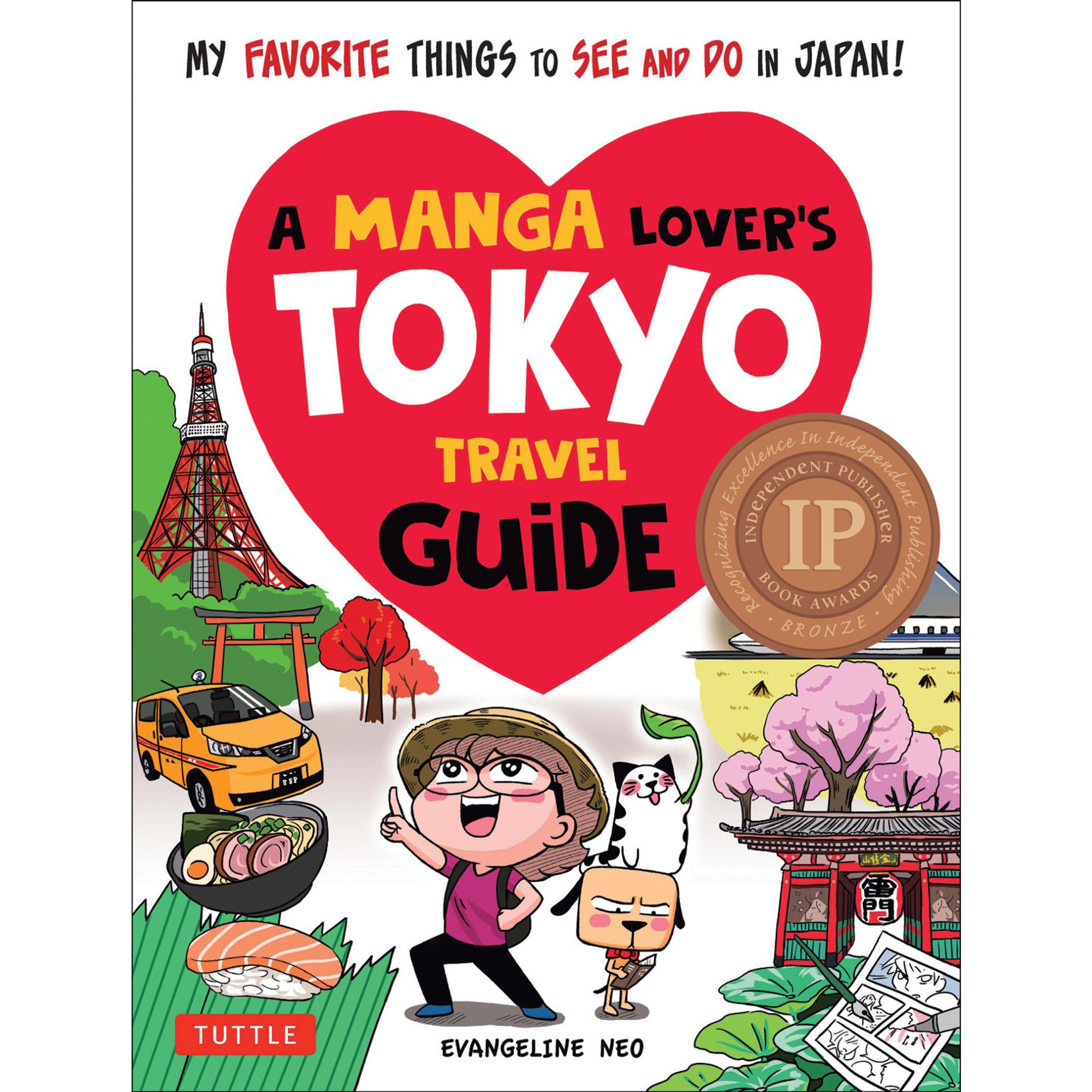 MANGA LOVER'S TOKYO TRAVEL GUIDE (Evangeline NEO) SC