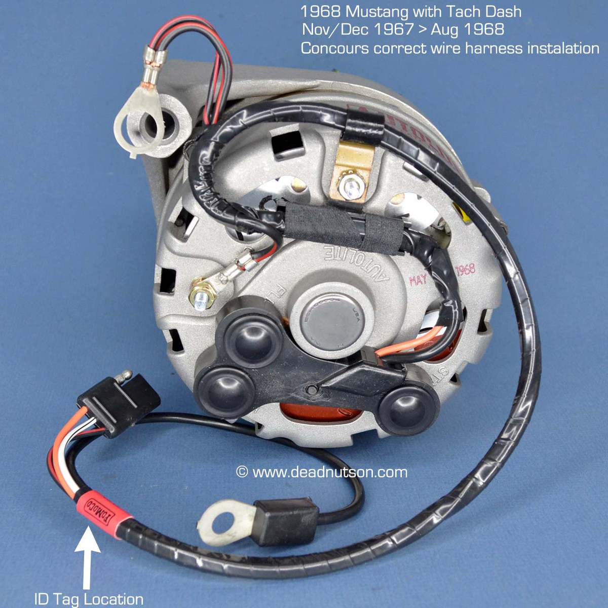 hight resolution of concours correct installation of this alternator wire harness
