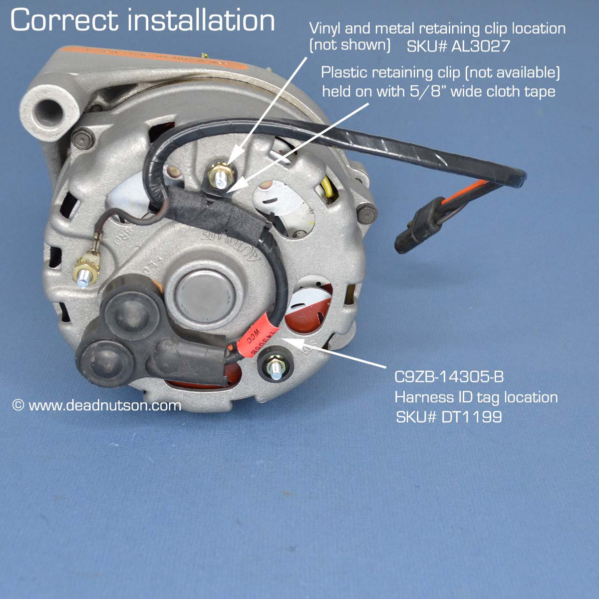 hight resolution of 1969 alternator wire harness without tach