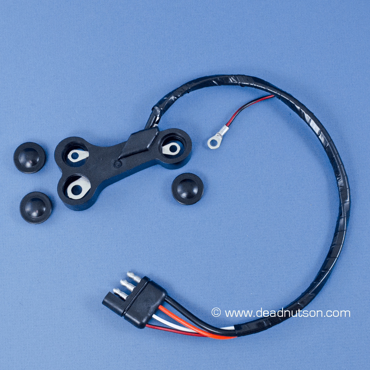 alternator wiring harness for 1970 mustangs with factory tachometer data wiring diagram [ 1200 x 1200 Pixel ]