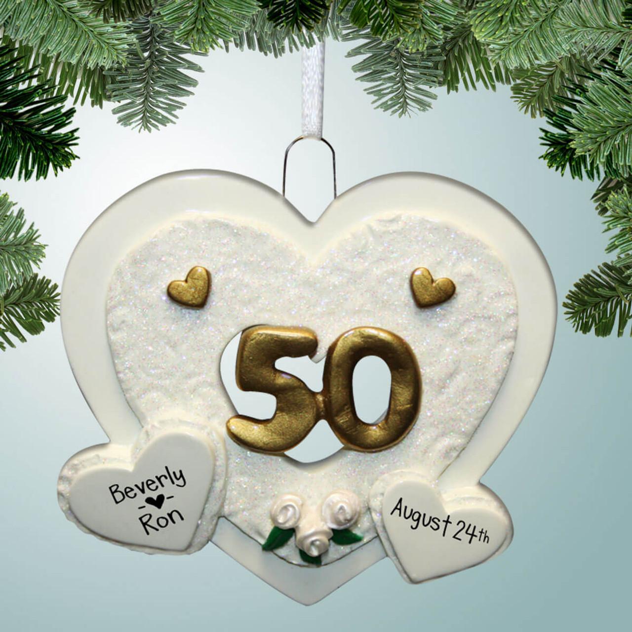 50th anniversary heart