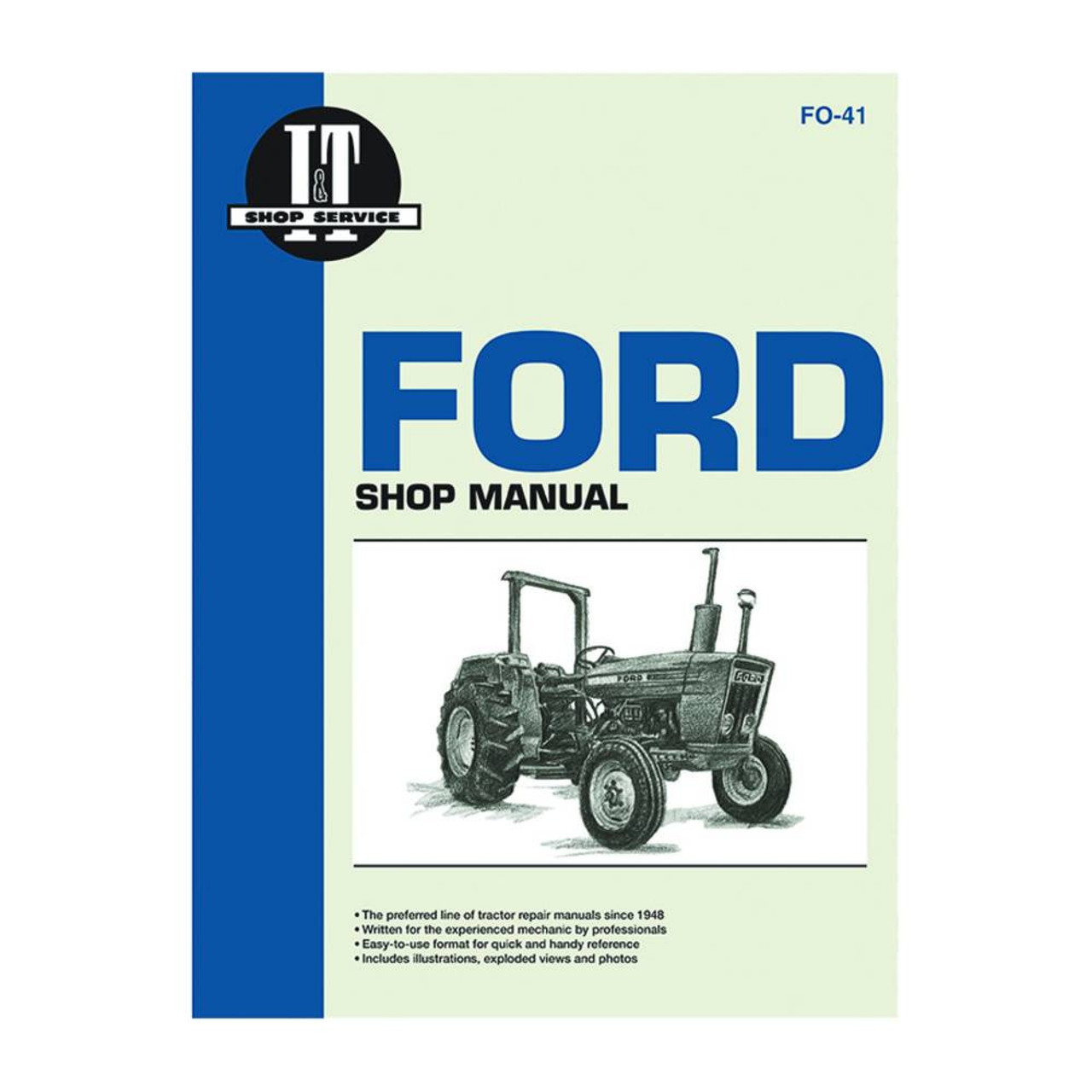 service manual ford new holland tractor fo 41 2310 2600 2610 3600 2310 ford tractor wiring harness diagram [ 1280 x 1280 Pixel ]