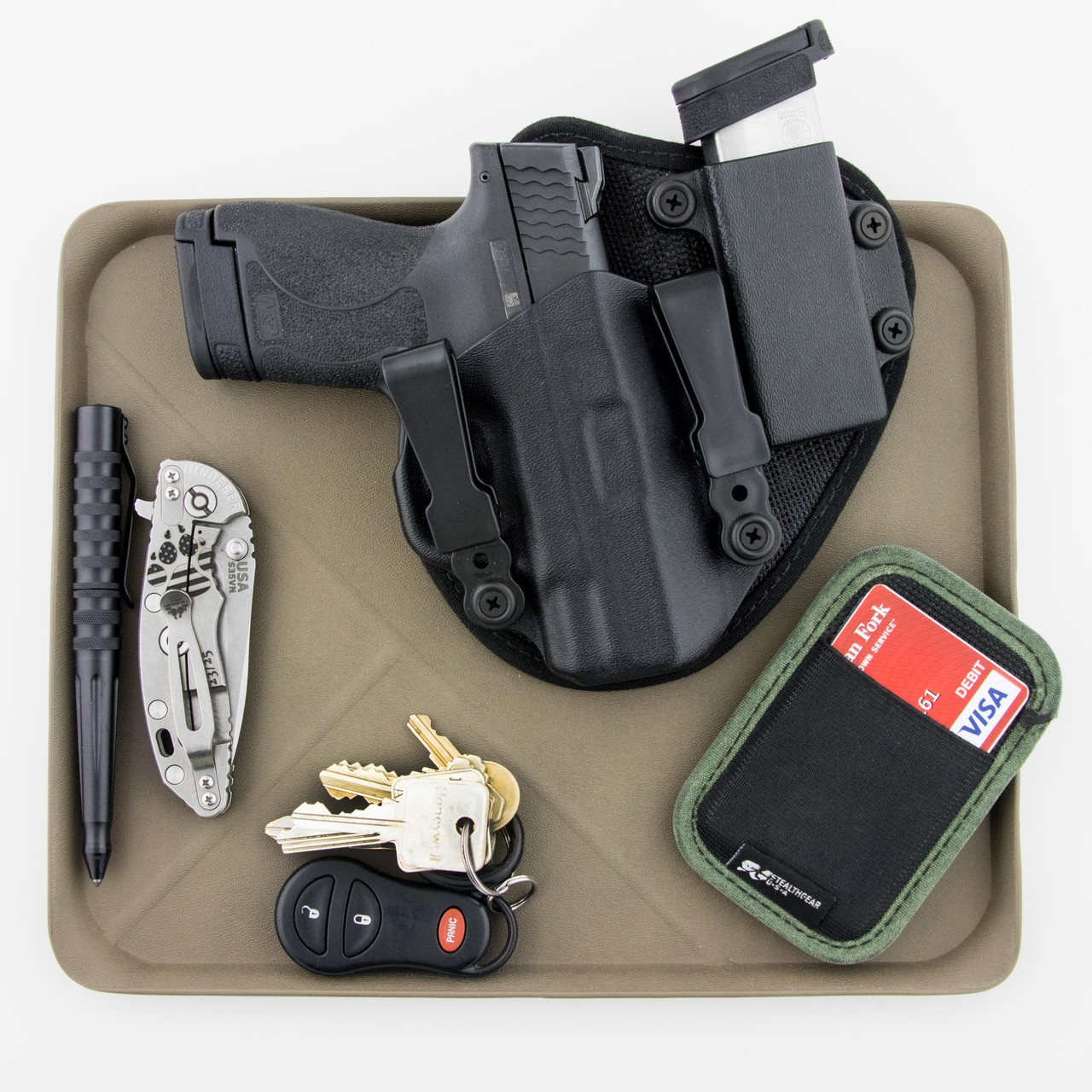 edc dump tray stealthgearusa