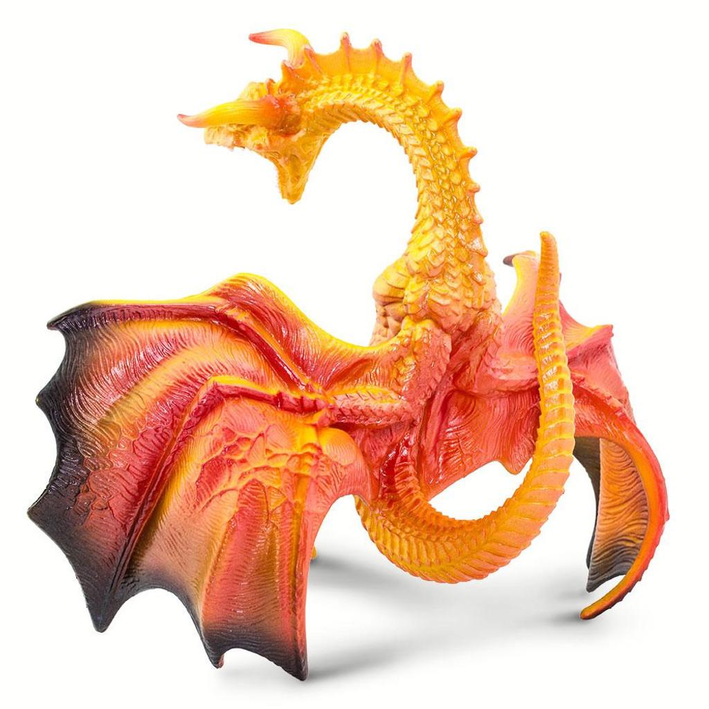 safari ltd lava dragon