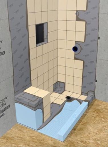 durock ultralight foam backer board for
