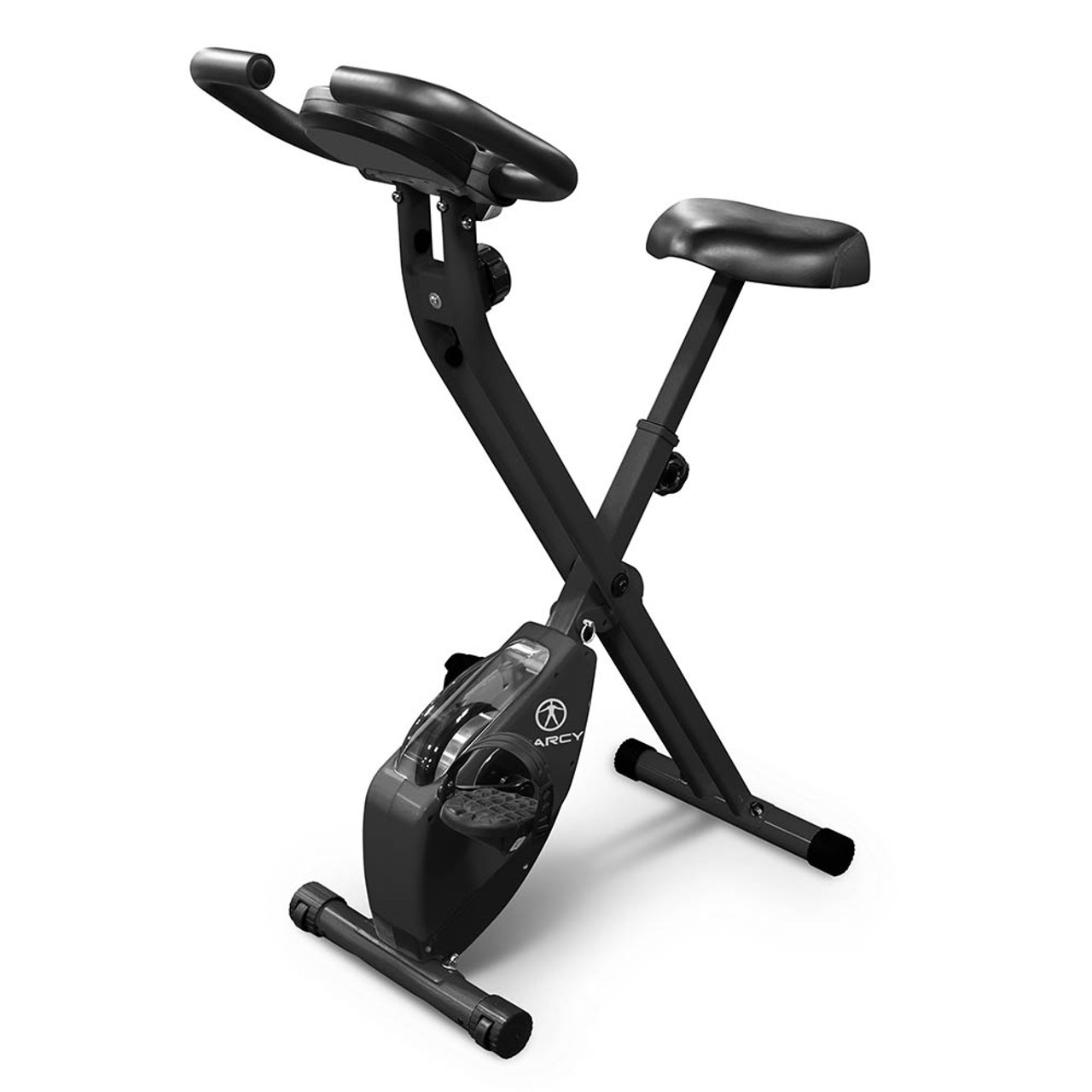 Marcy Foldable Bike - Black NS-654 Best Cardio Exercise
