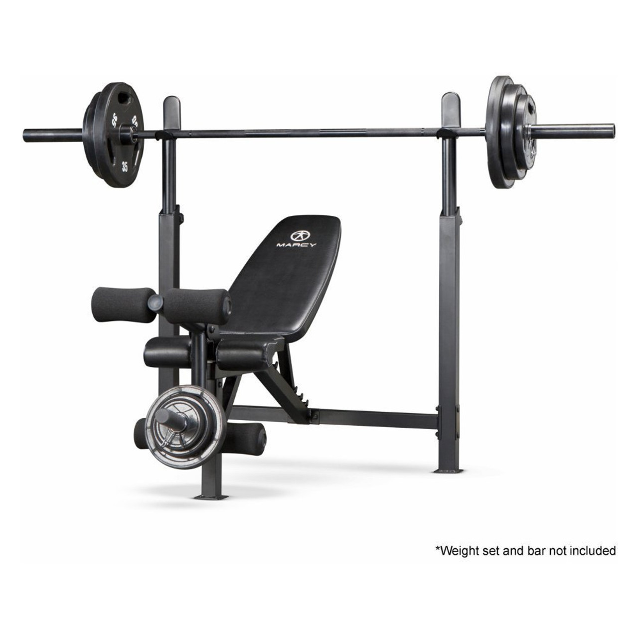 marcy olympic bench with rack mwb 732
