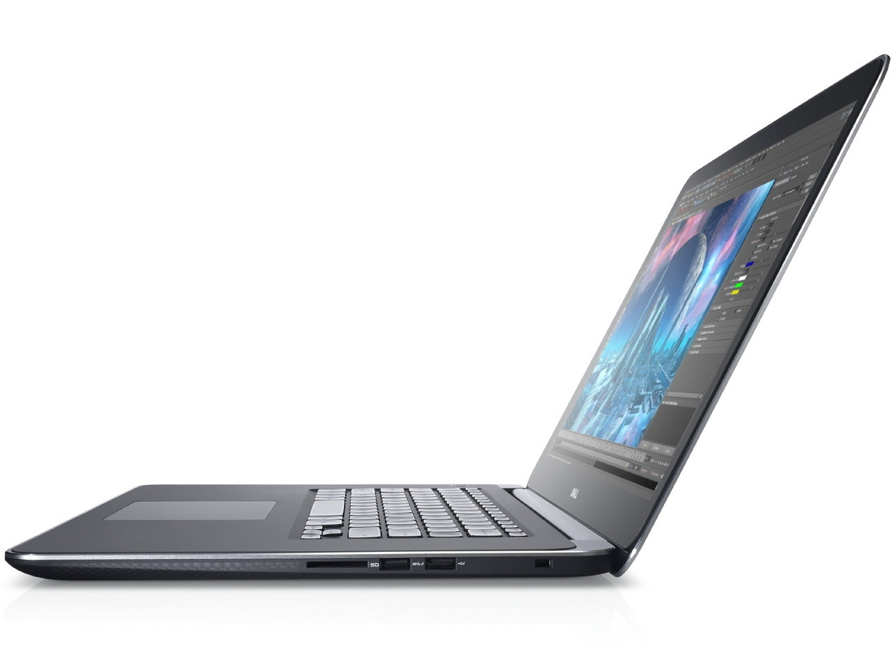 hight resolution of dell precision m3800 i7 15 6 touch 4 pound laptop main picture