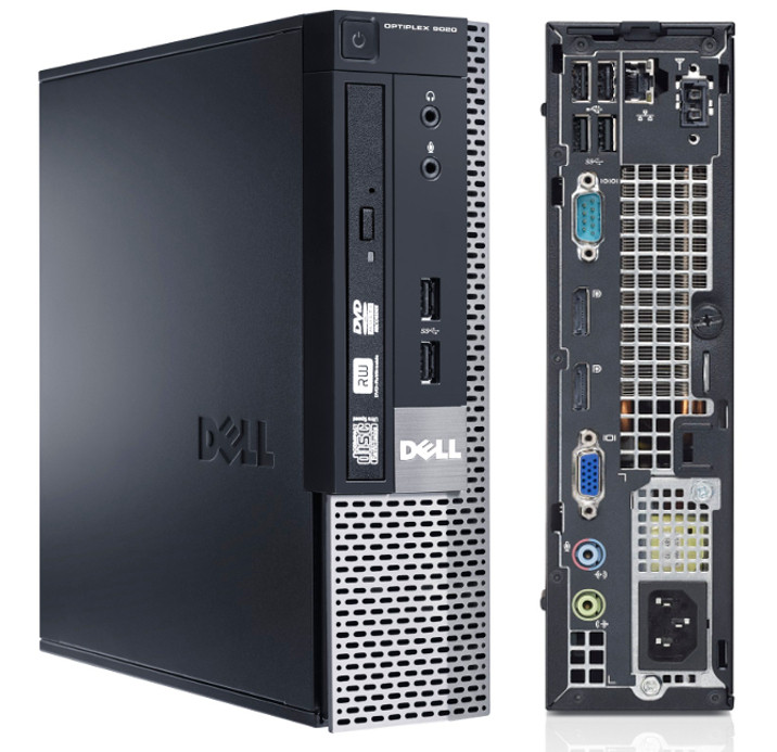 Dell Optiplex 9020 USFF i54570S Windows 7 Professional Computer