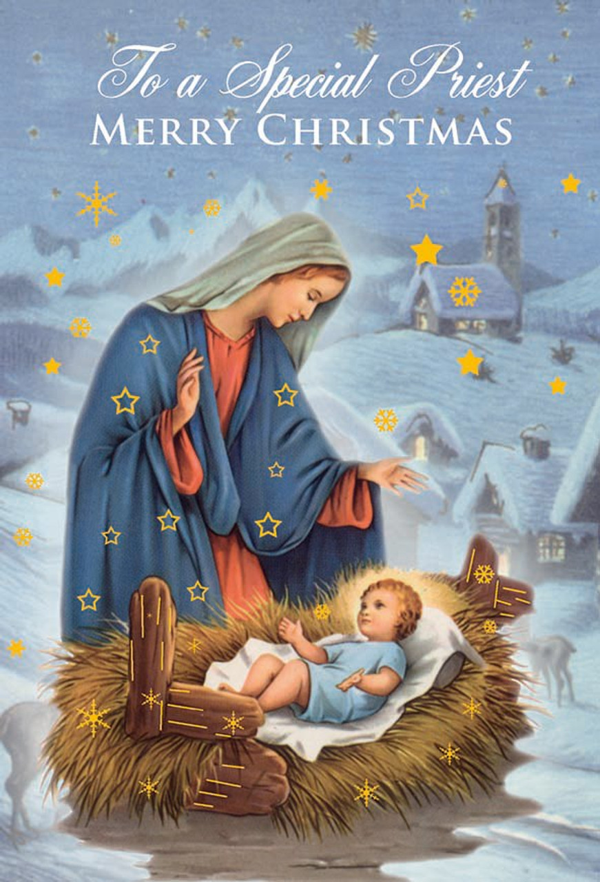 christmas greeting card for