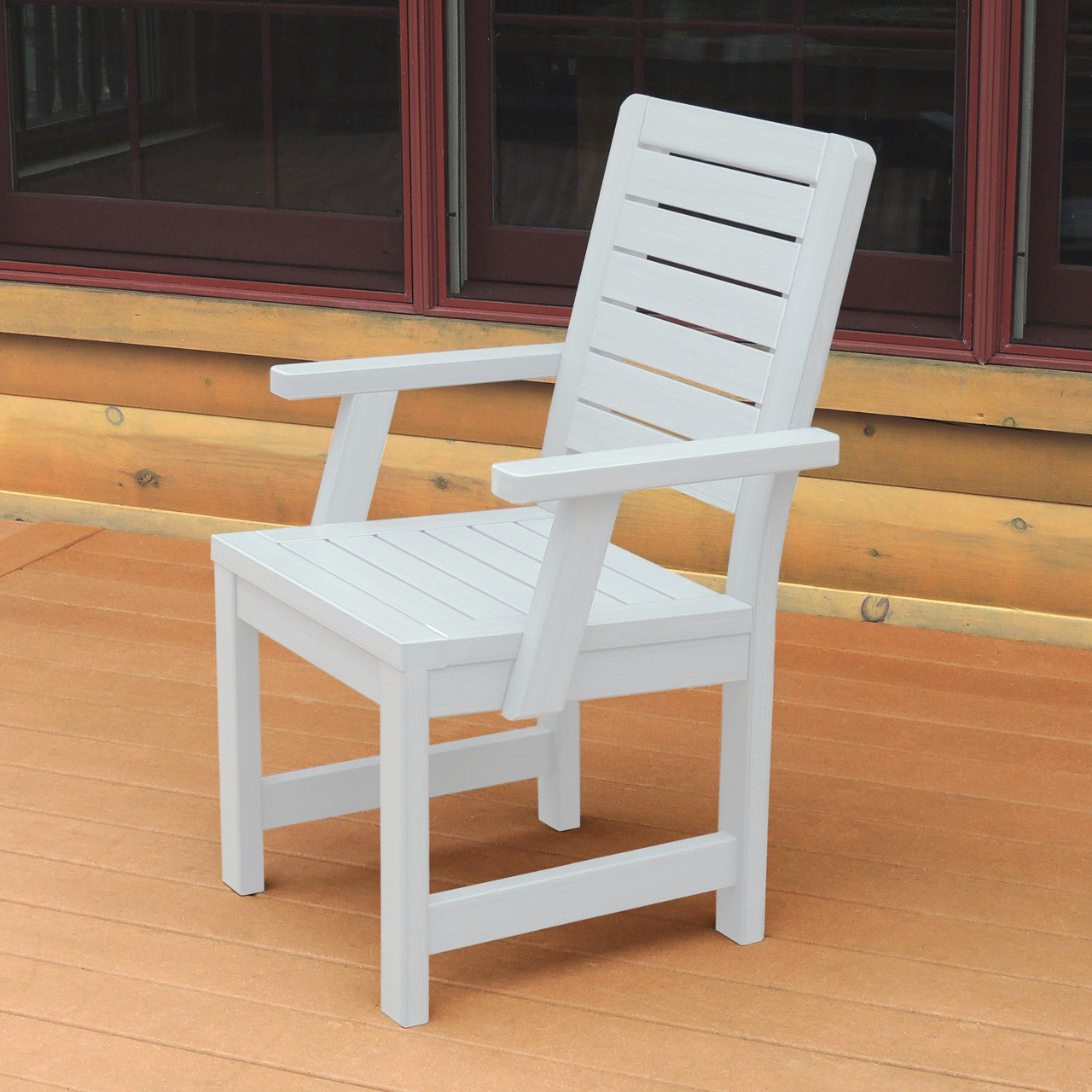 counter height arm chairs how to protect wood floors from highwood weatherly dining chair woodjoyteak com