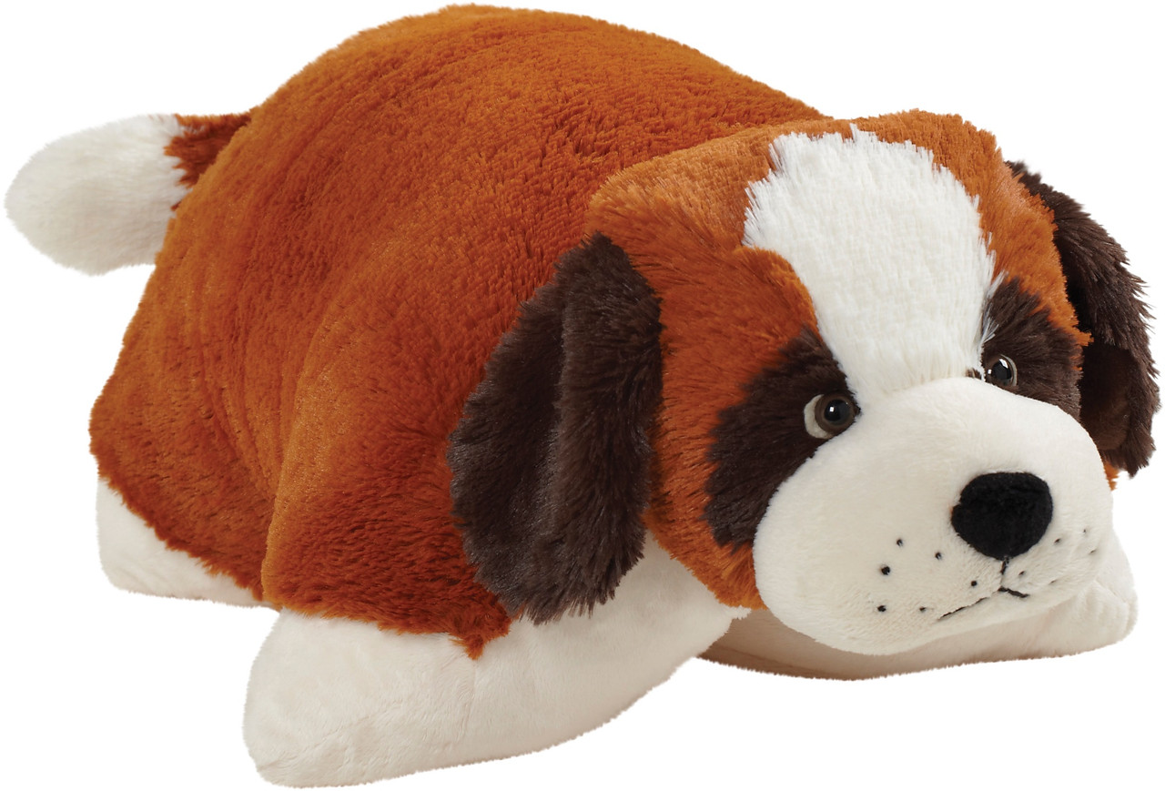 st bernard pillow pet
