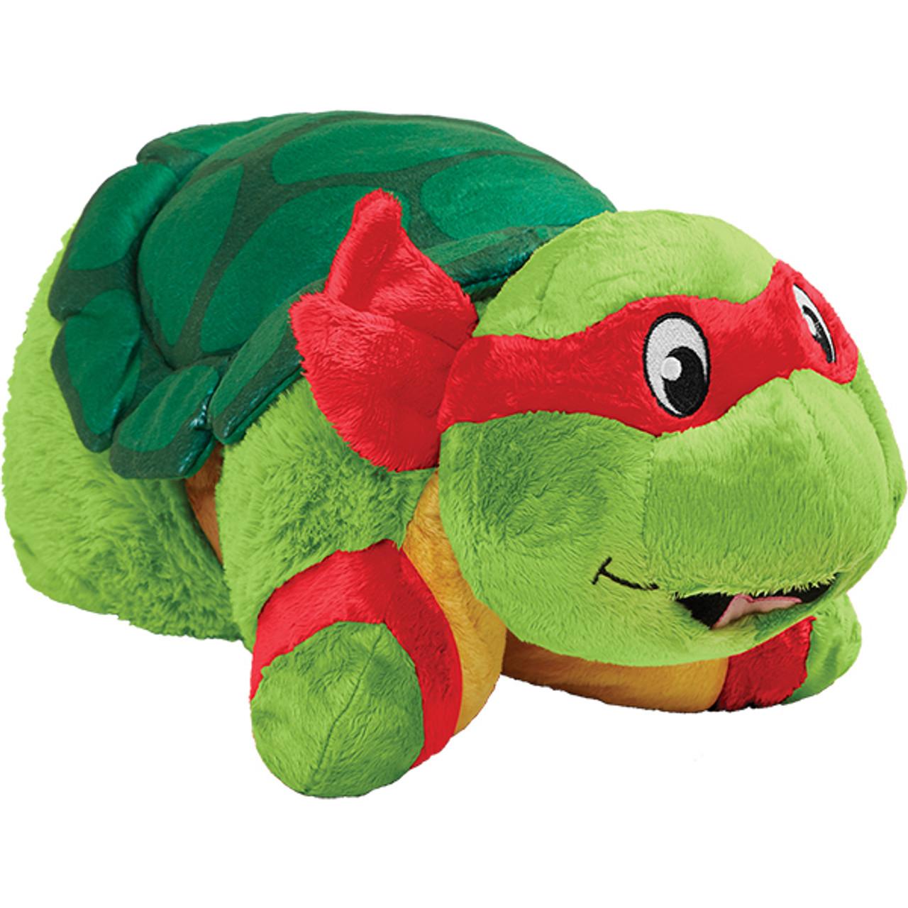 nickelodeon teenage mutant ninja turtles raphael pillow pet