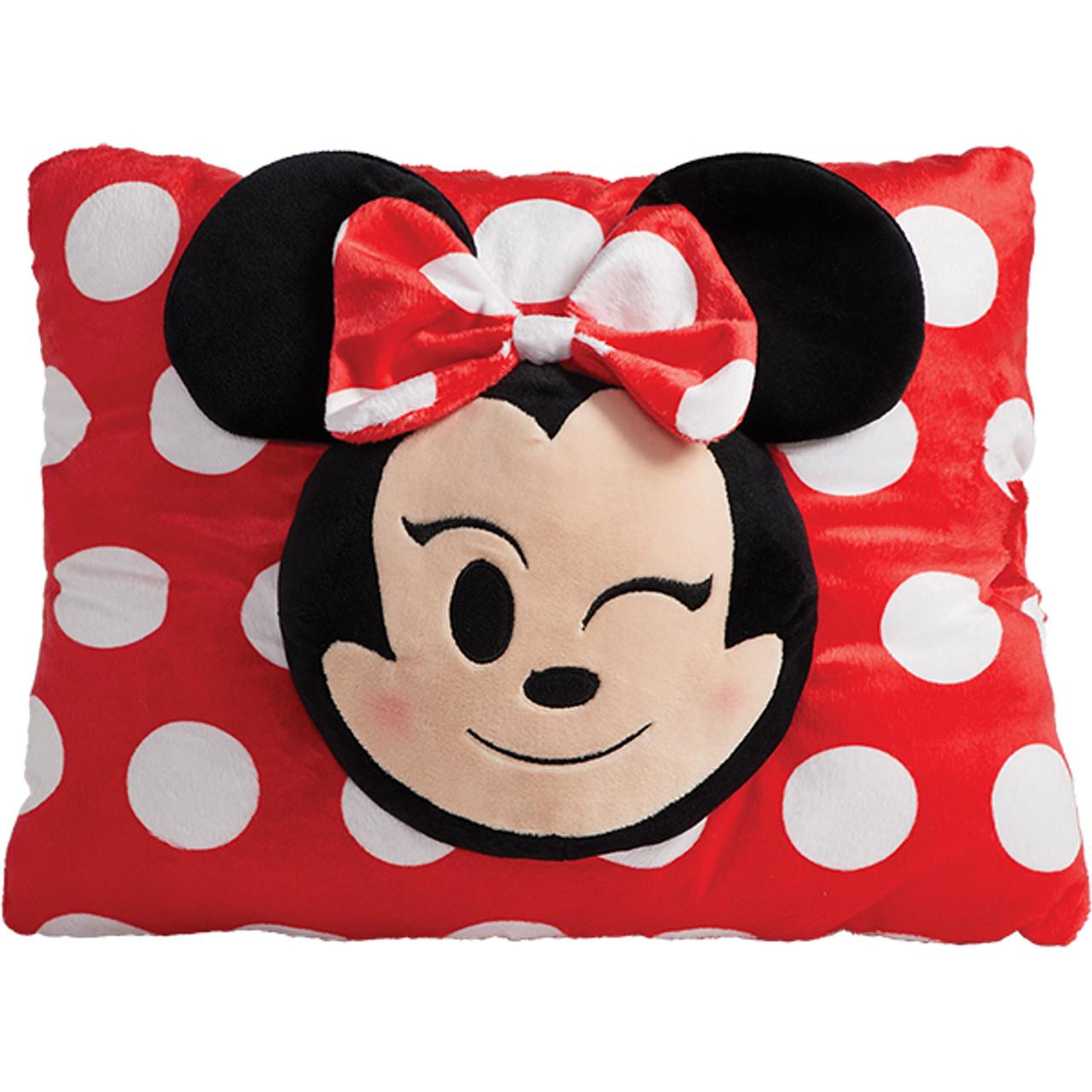 disney minnie mouse emoji pillow pet