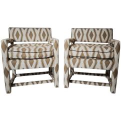 Parsons Chairs Tolix Chair Cushion Pair Lido World