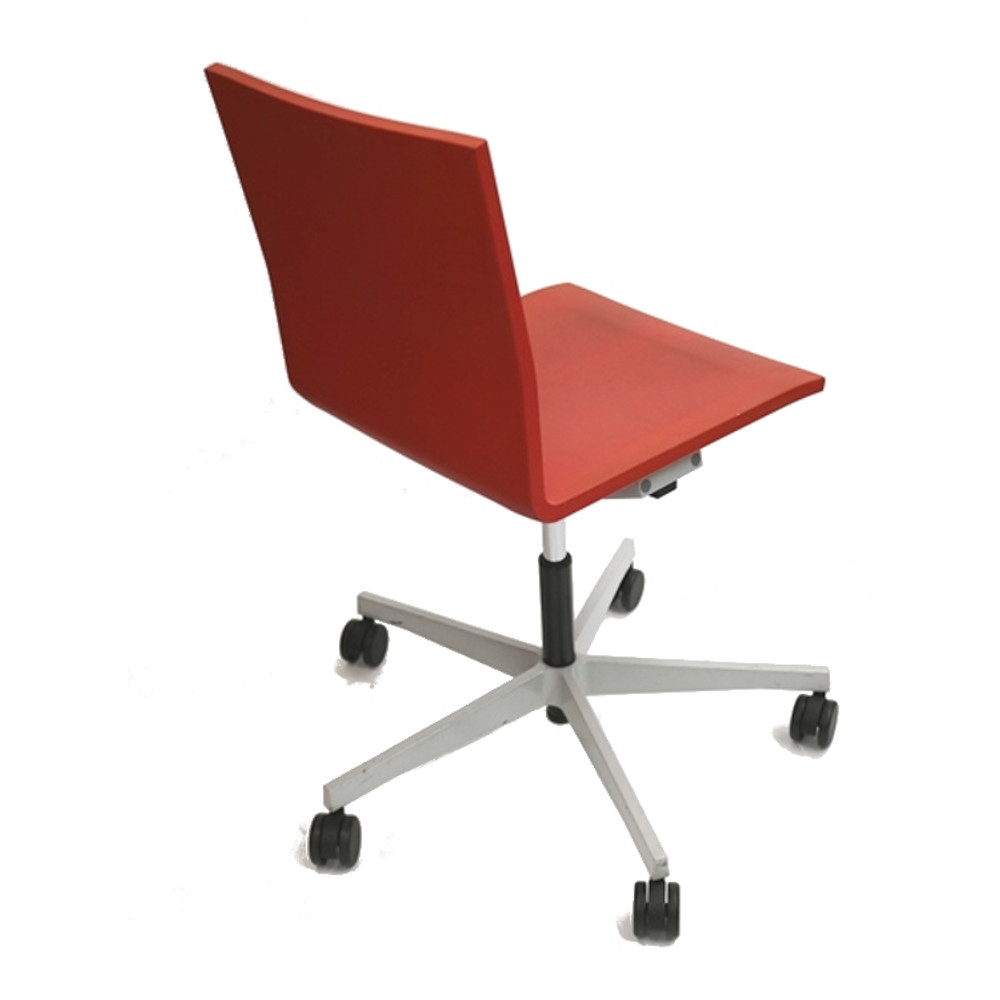 vitra ergonomic chair old fashioned lawn chairs studio maarten van severen 04 in red