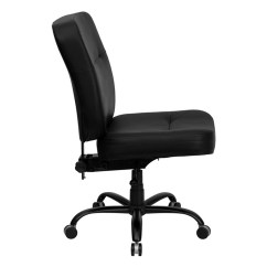 Tall Swivel Chair Glider Rocking Replacement Covers Flash Furniture Hercules Series Big 400 Lb Rated Black Leather Executive