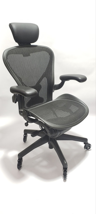 Herman Miller Aeron Chair Fully Featured Gray WPosturefit