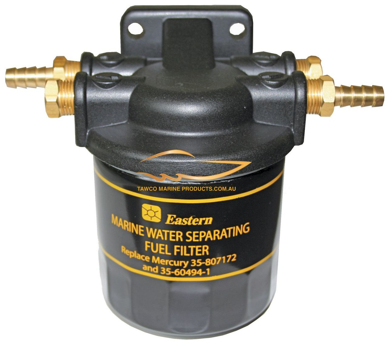 hight resolution of outboard water separating fuel filter mercury