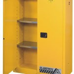 Justrite 894500 45 Gal Flammable Safety Cabinet Manual Close